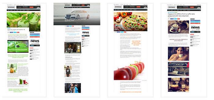 Newsmag Sample Posts