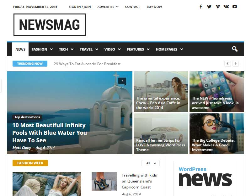 how to create magazine website weebly
