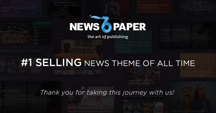 Newspaper Best Selling Theme