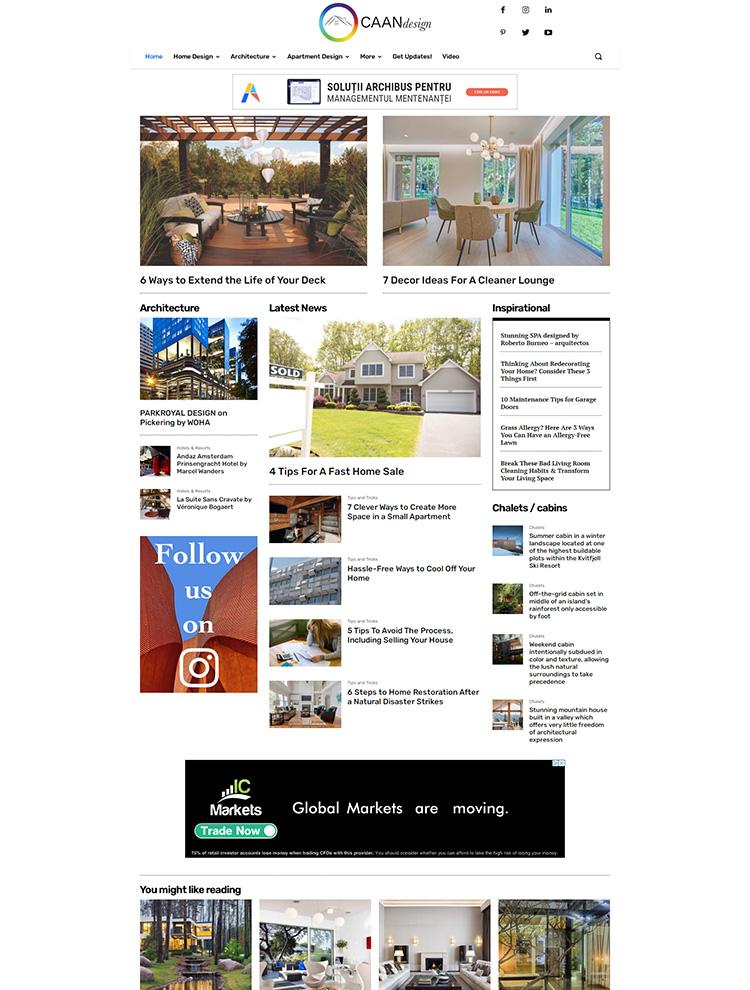 caandesign - Newspaper showcase