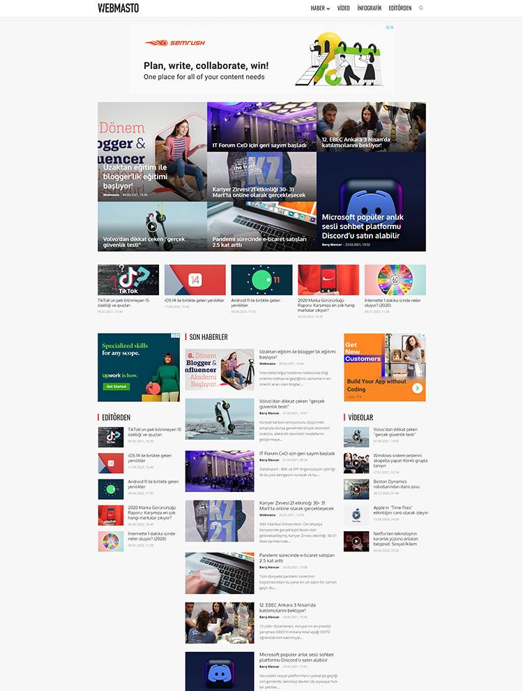 webmasto - Newspaper showcase