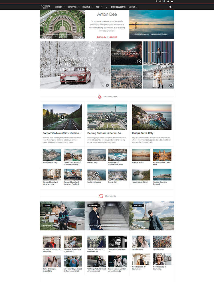 Newsmag Showcase - The Style Divison