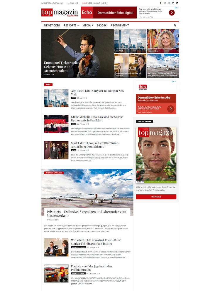 Newsmag Showcase - Top Magazin Frankfurt