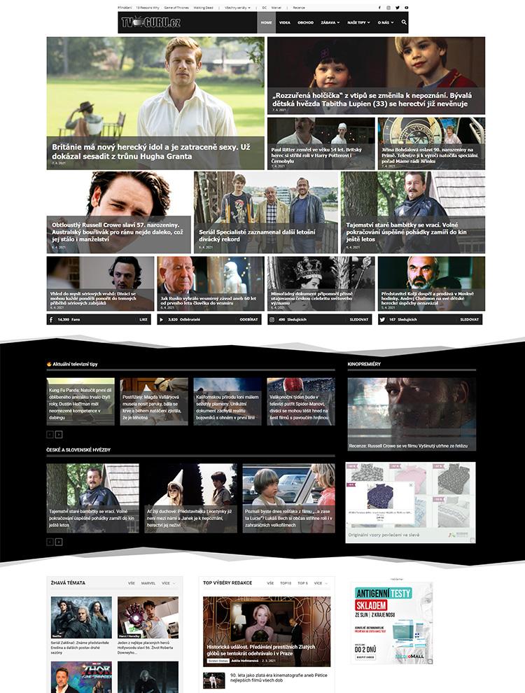 tvguru - Newspaper showcase