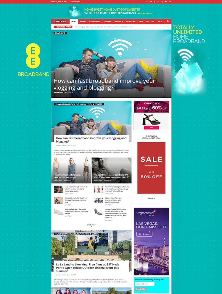 Newsmag Theme Showcase - Flavour Mag