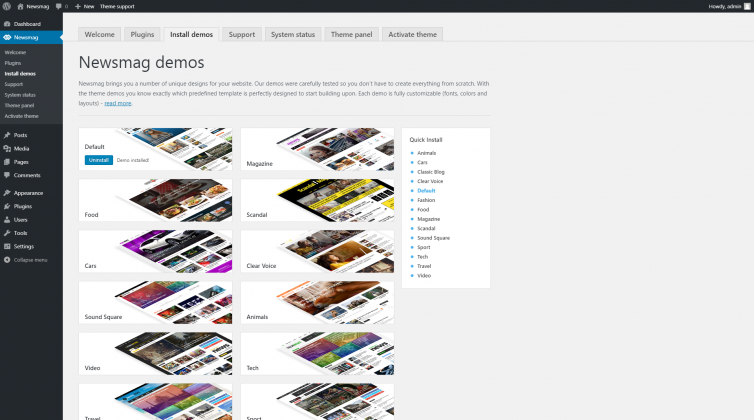 Newsmag 4 - Pre-made Demos