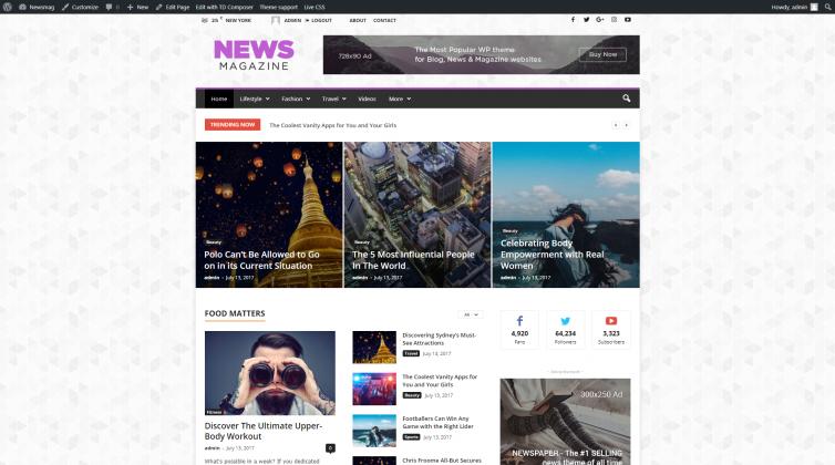 Newsmag 4 - News_Magazine_Demo
