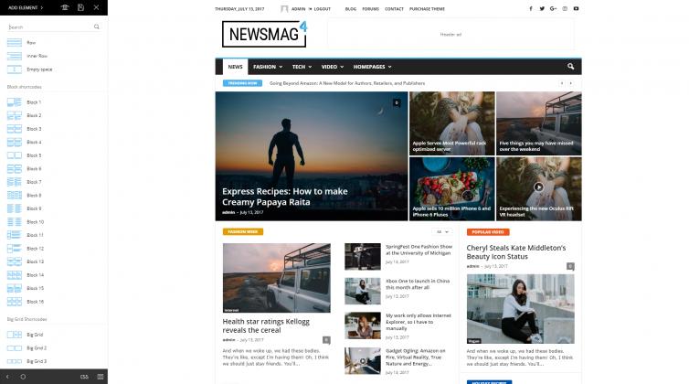 Newsmag 4 - tagDiv Composer