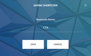 Call-to-action Shortcode