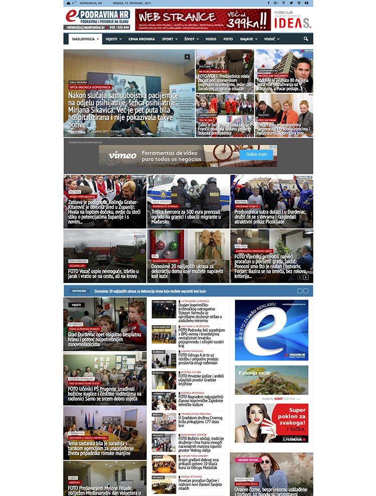 Newsmag Showcase - ePodravina