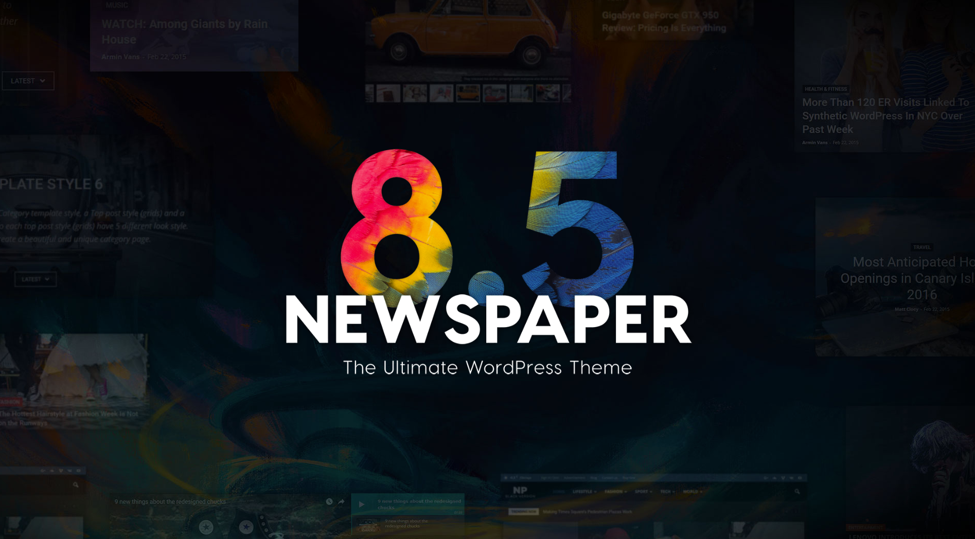 Newspaper 85 By Tagdiv Discover Landing Page Elements