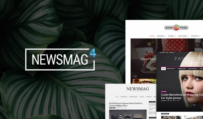 Newsmag Theme -Demos
