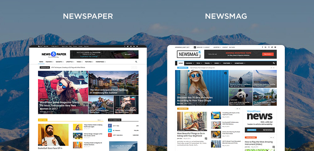 Newspaper Vs Newsmag How To Choose The Perfect Theme