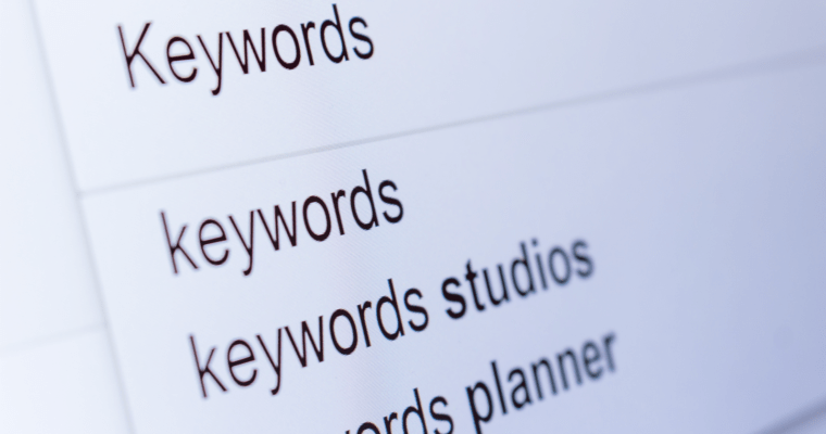 Tricks to Boost your WordPress Site's Traffic - Keywords