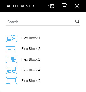 tagDiv Composer Flex Block Elements