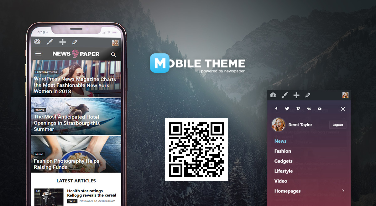 mobile theme