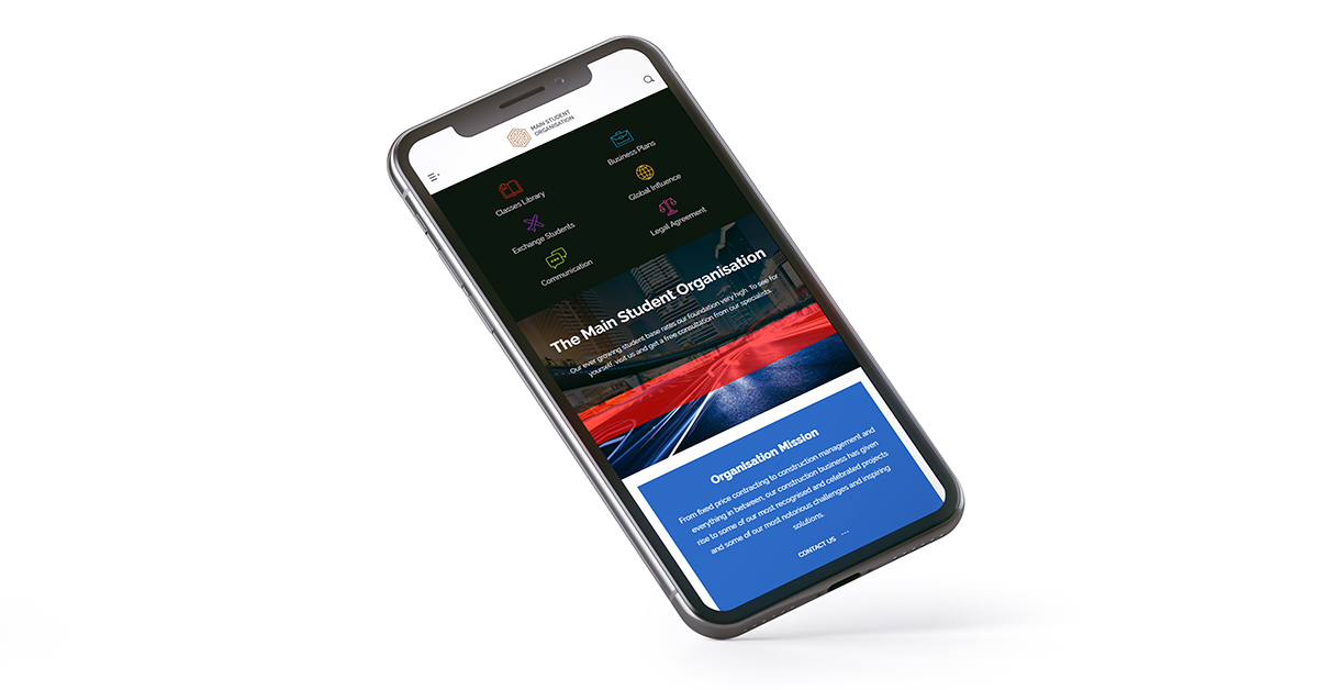 Mobile Header Menu