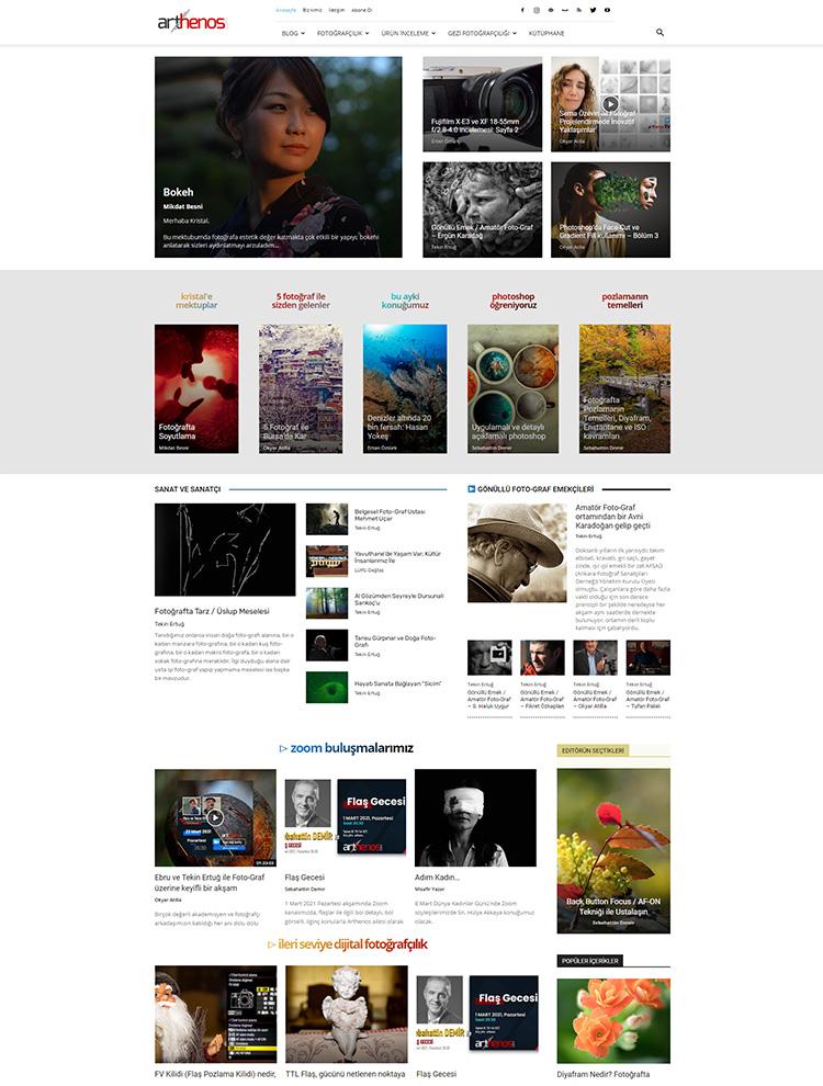 arthenos - Newspaper showcase