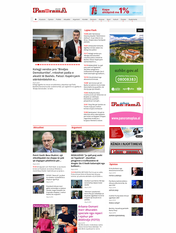 Newsmag Showcase -Panorama