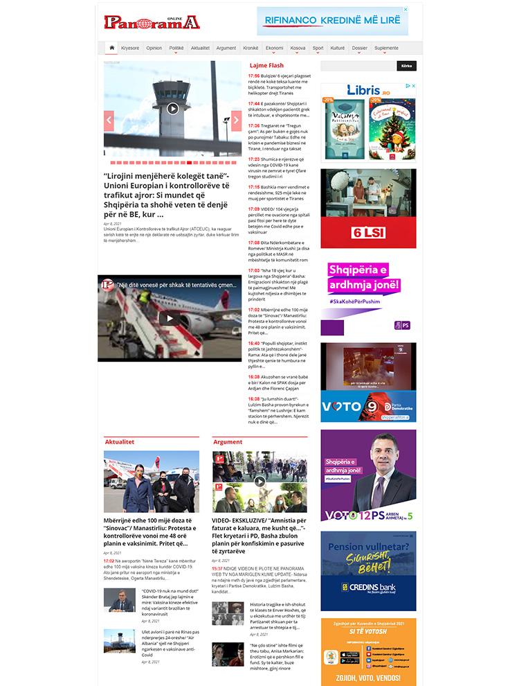 panorama - Newsmag showcase