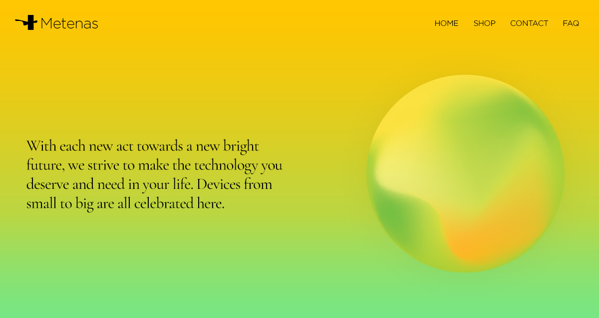 Gradients in web design: on Background on a website's Header Newspaper Theme