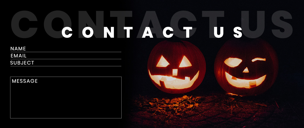 Halloween Contact Form