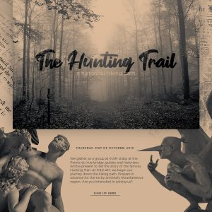 The Hunting Trail Event on Halloween