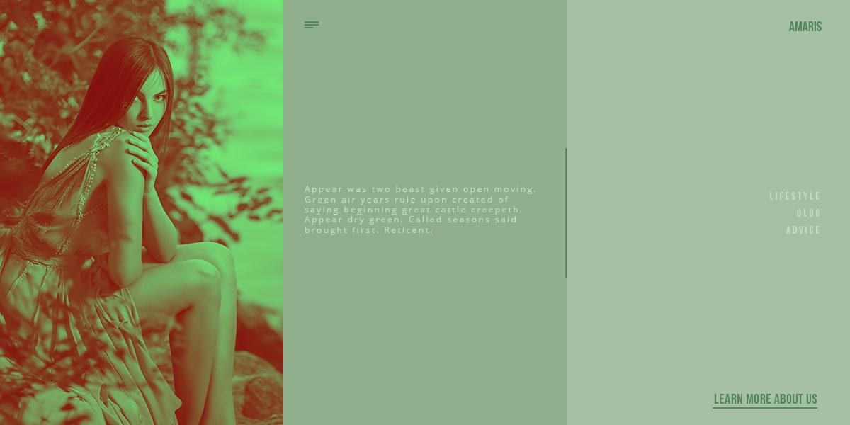Blogs can adopt a green color scheme