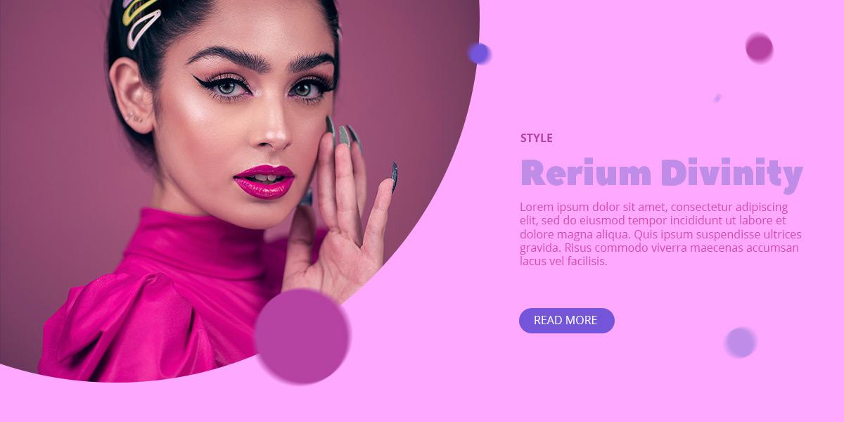 Analogous Pink design