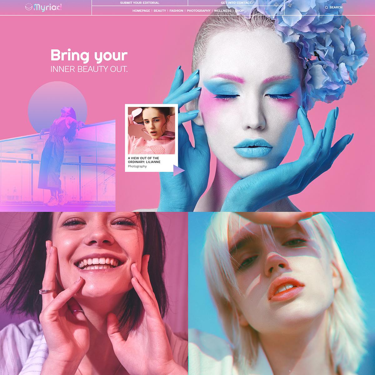 Beauty Pro Demo tagDiv Newspaper Theme