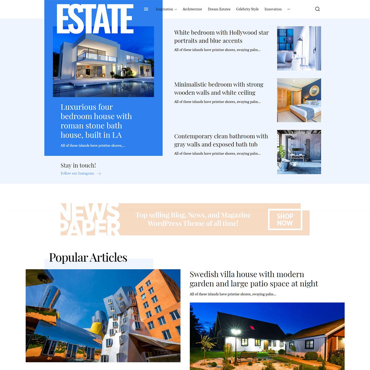 Estates PRO demo