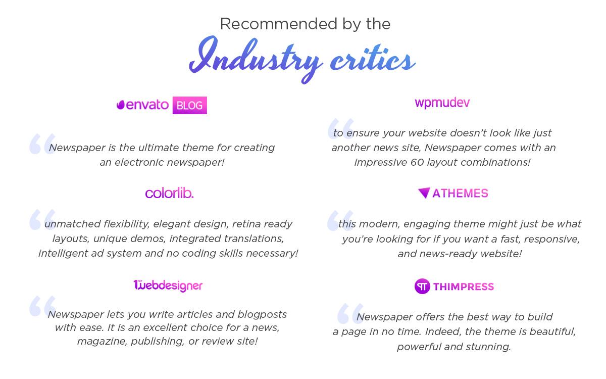 Industry Critics