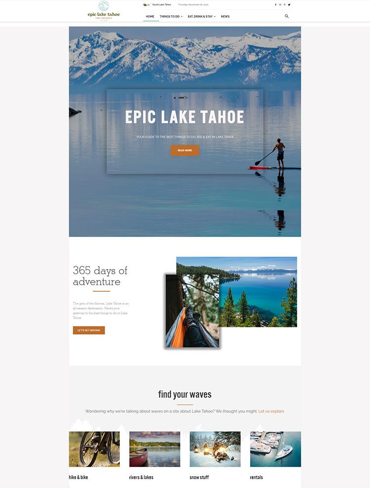 Epic lake Tahoe