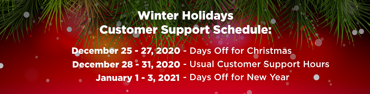 tagDiv Customer Support Schedule