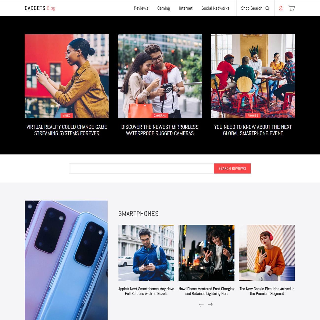 Discover the Gadgets Blog Shop