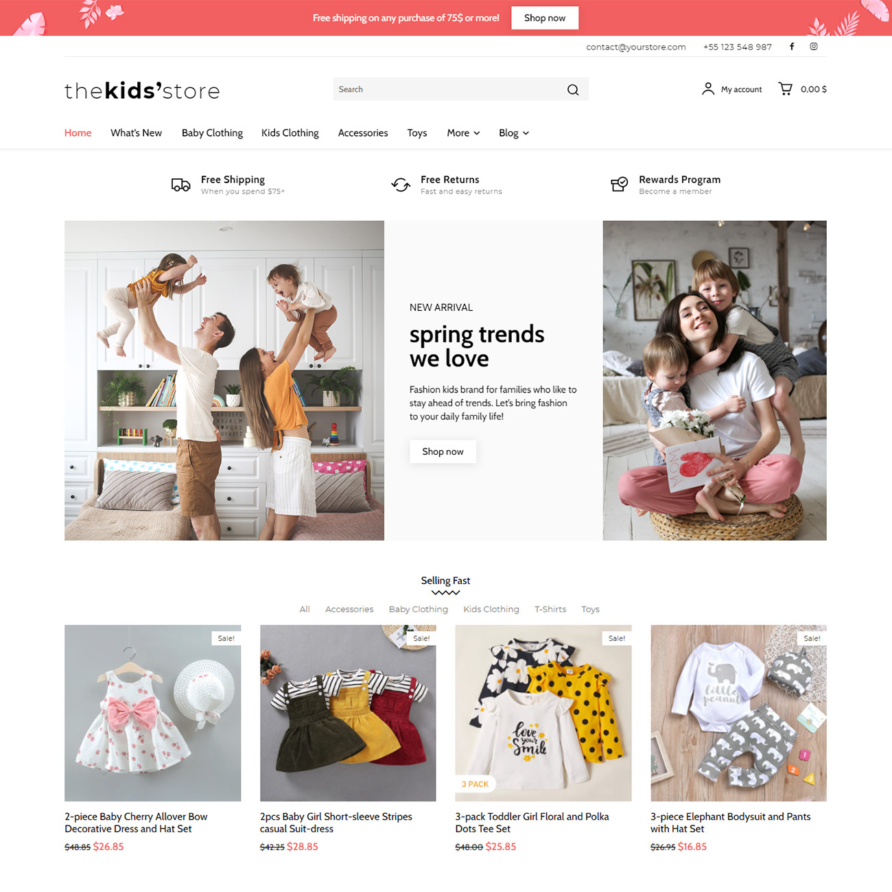 Discover the Kids' Store Shop