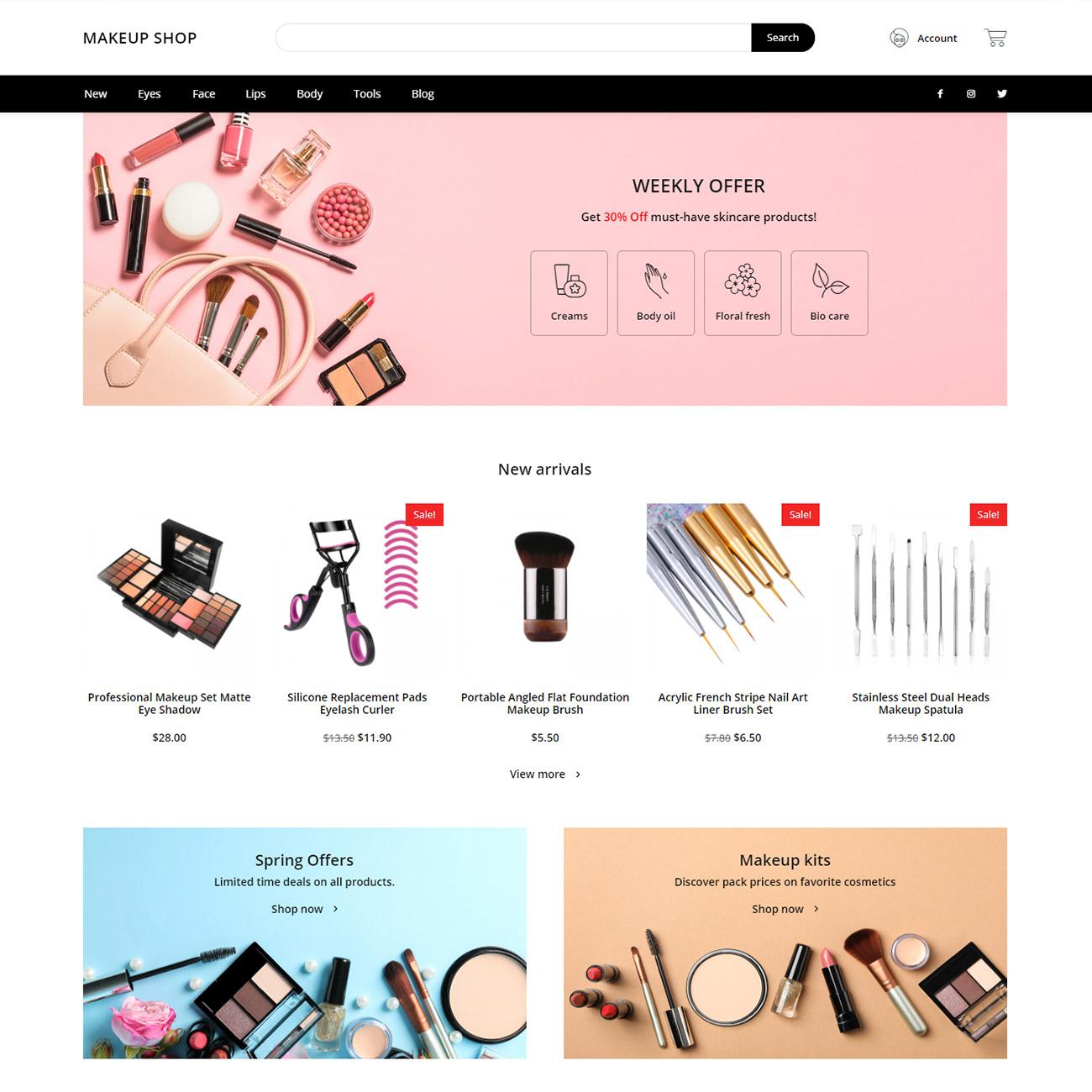 Discover the Makeup Shop